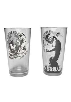 Set of 2 King Kong Pint Glasses