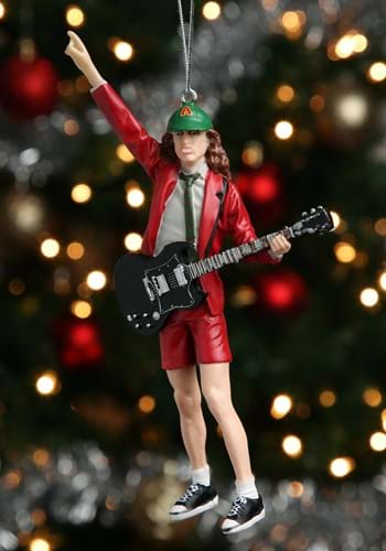 AC DC Angus Young 5 Resin Ornament