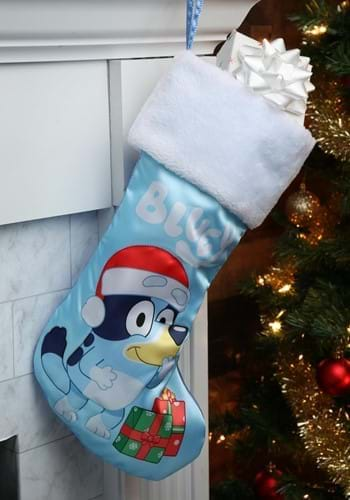 Bluey with Presents Stocking
