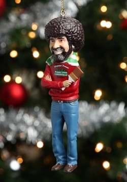Bob Ross 5 Blow Mold Ornament