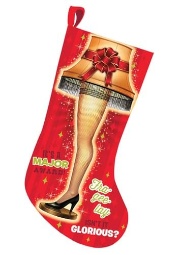 A Christmas Story Leg Lamp Light Up Stocking
