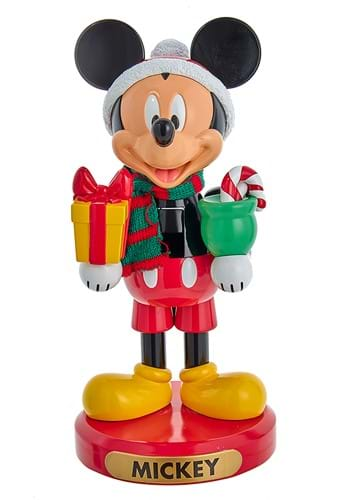 Mickey Mouse with Present 10 Nutcracker
