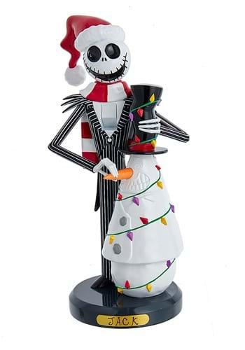 Nightmare Before Christmas Jack Snowman 11 Nutcracker