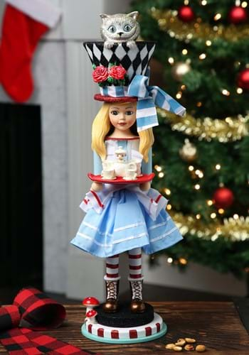 "Alice in Wonderland Alice 19.5"" Hollywood Nutcracker"