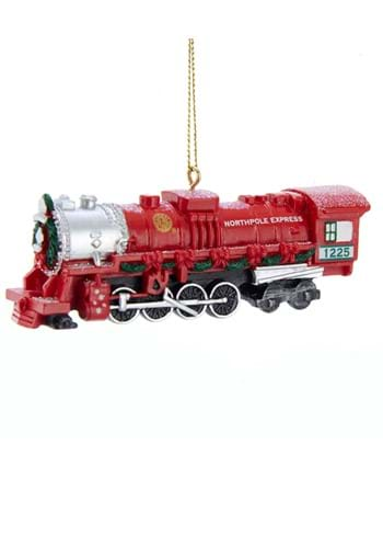 Lionel Christmas Red Train Ornament upd