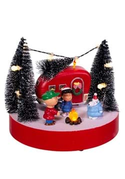 Peanuts Musical Camper Scene Tablepiece with LED Light