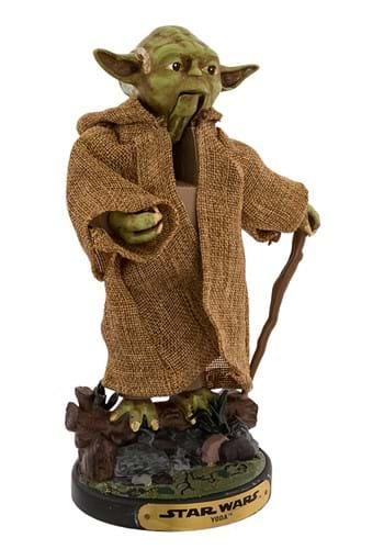 """Star Wars Hollywood 12"""" Yoda Nutcracker"""