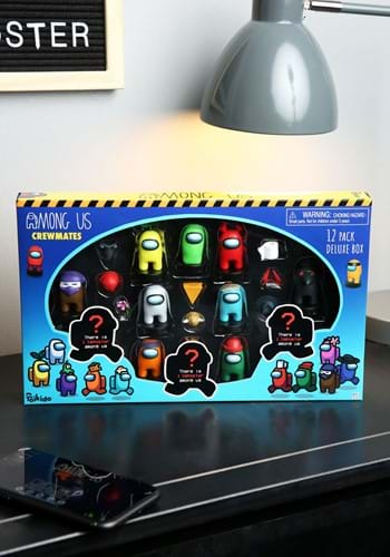 Among Us Crewmate Stampers 12 Pack Deluxe Box