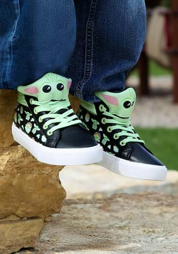 The Mandalorian Kids Grogu Sneakers