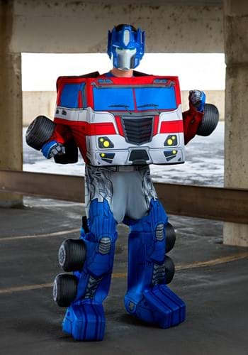 Transformers Optimus Prime Converting Adult Costume