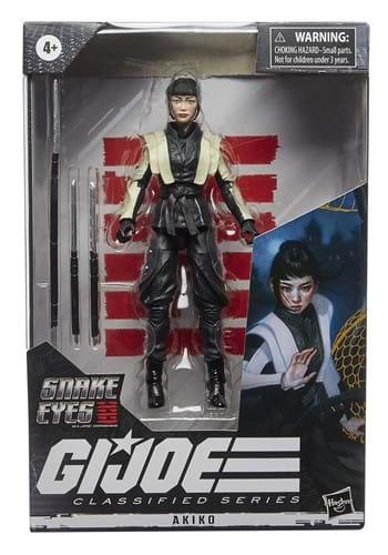 Snake Eyes: G.I. Joe Classified Series 6in Akiko Figure