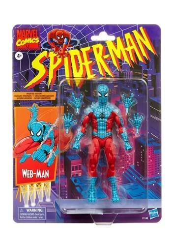 Spider-Man Marvel Legends Series 6-Inch Web-Man