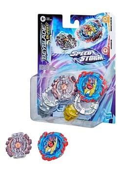 Beyblade Burst Speedstorm Mirage Helios H6 Gaianon G6 Set