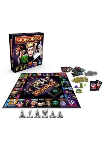 Disney Villains Edition Monopoly Game
