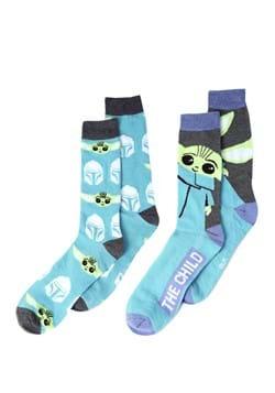 Men's Mandalorian Green The Child 2 Pack Socks