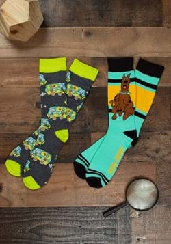 Men's Scooby Doo 2 Pack Socks
