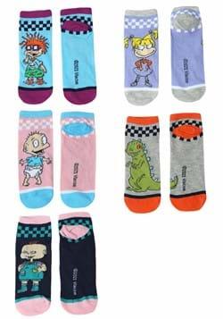 Ladies Rugrats Group 5 Pack Socks