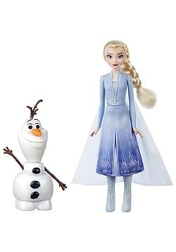 Disney Frozen Talk and Glow Olaf and Elsa Dolls