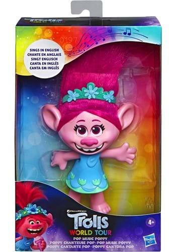 DreamWorks Trolls World Tour Poppy Singing Doll