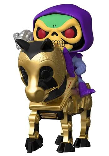 POP Rides MOTU Skeletor with Night Stalker