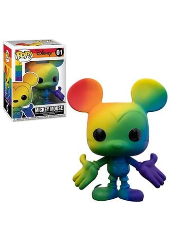Funko POP Disney Pride Mickey Mouse RNBW