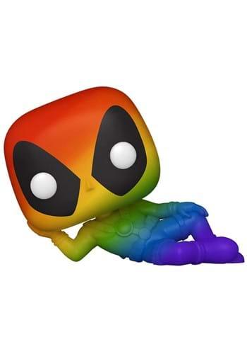 POP Marvel Pride Deadpool Rainbow Figure