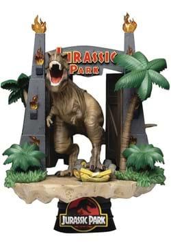 Beast Kingdom D Stage Jurassic Park Gate