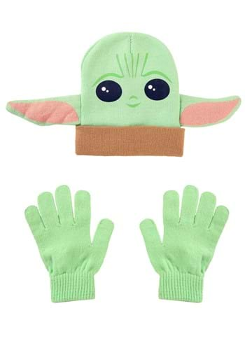 Star Wars Kids Grogu Hat and Glove Set