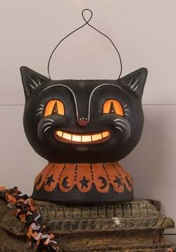 Johanna Parker Magic Catty Jack Lantern Paper Mache