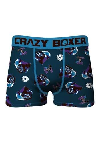Crazy Boxers Men's Star Wars Darth Vader Boxer Bri