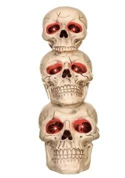 27.5 Light up Skull Totem
