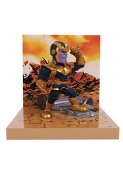 The Loyal Subjects Superama Marvel Thanos Figural Diorama