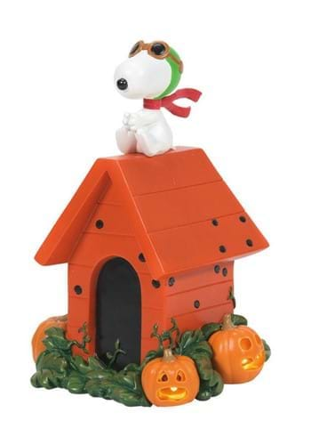 Department 56 Halloween Snoopy Flying Ace Figure