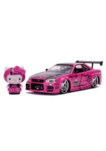 1 24 Hollywood Rides Hello Kitty 02 Nisssan Skyline