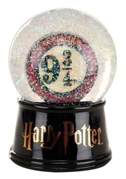HARRY POTTER PLATFORM 9 3/4 6in LIGHT UP SNOW GLOB