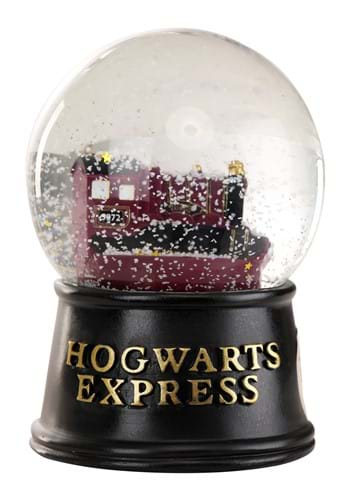 Harry Potter Hogwarts Express Light Up Snow Globe