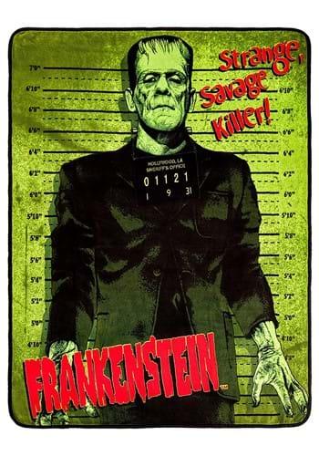 Universal Monsters Frankenstein Micro-Plush Throw Blanket