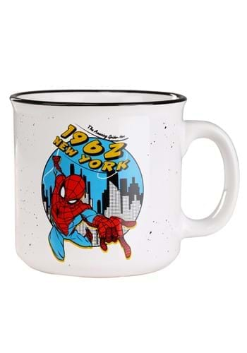 Spiderman 1962 New York 20oz Camper Mug-1