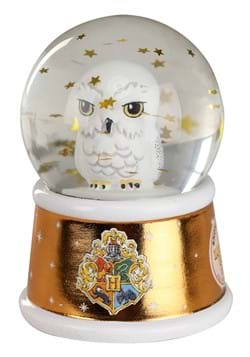Harry Potter Hedwig Light Up 55mm Snow Globe-1
