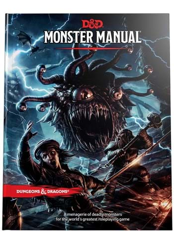 Dungeons and Dragons RPG Monster Manual