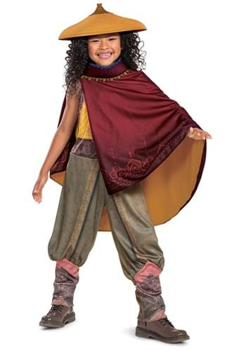 Raya and the Last Dragon Girls Deluxe Raya Toddler Costume