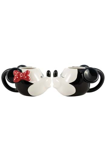 Disney Mickey and Minnie Mouse Sculpted Mug Set