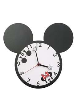 Disney Mickey and Minnie Shaped Wall Clock
