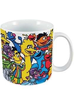 Sesame Street Friends 20oz Ceramic Mug