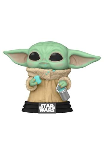 POP Star Wars Mandalorian The Child with Cookie