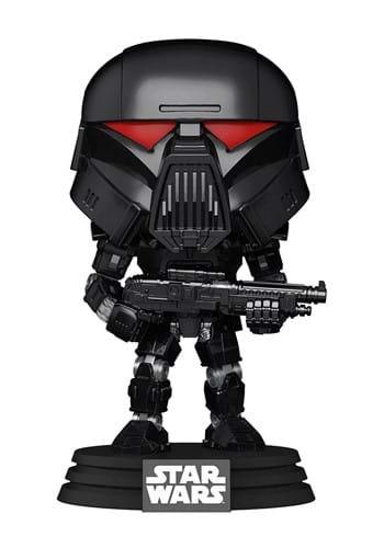Funko POP Star Wars Mandalorian Dark Trooper Battle