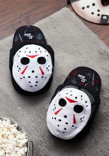 Friday the 13th Jason Adult Silppers-1