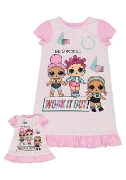 Girls LOL Surprise Work it Out Dorm Nightgown