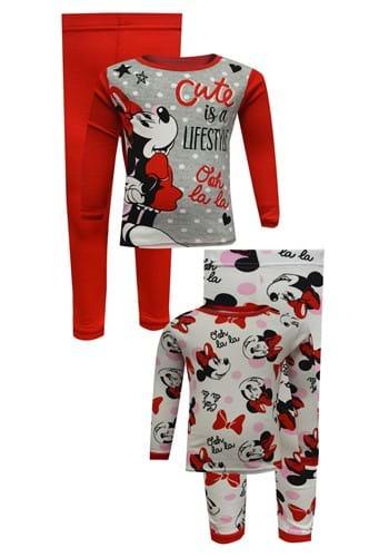Minnie Mouse Girls 4 Pc Sleep Set