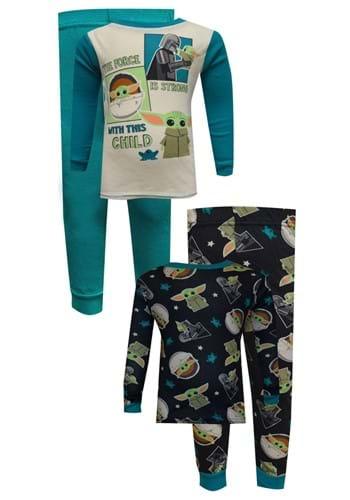 4 Pc Toddler Boys The Child Force Fun Sleep Set